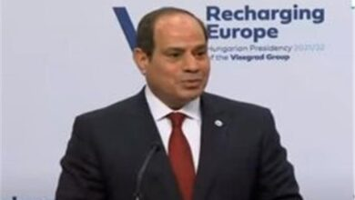 Photo of كلمة الرئيس السيسي خلال مشاركته في مؤتمر قمة «تجمع فيشجراد مع مصر»