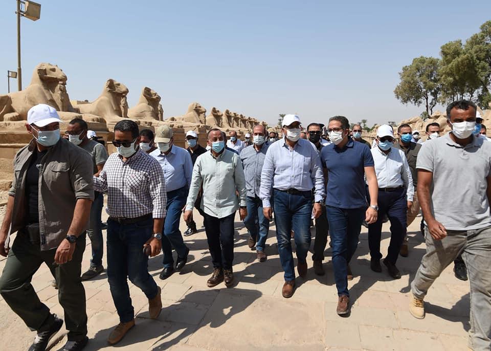 تفاصيل زيارة رئيس الوزراء بمحافظة الأقصر