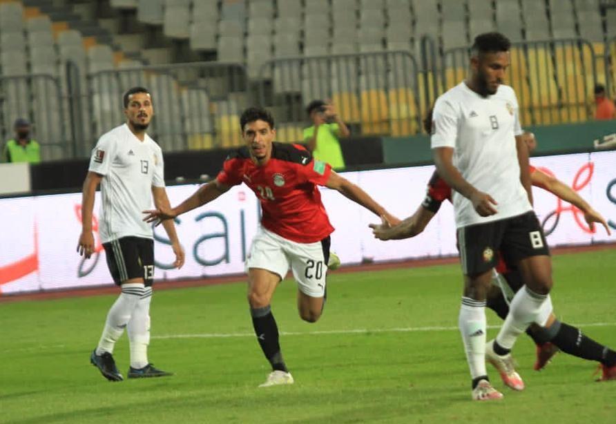 مصر ليبيا كأس العالم