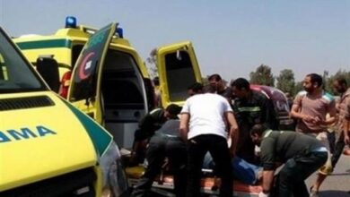 Photo of مصرع شخصين وإصابة 14 أخرون في حادث انقلاب سيارة على الطريق الصحراوي الشرقي بالمنيا